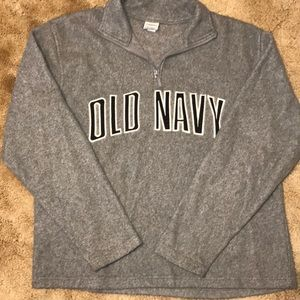 Old Navy Qtr Zip Fleece Size Small